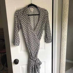 Julie Brown Wrap Dress